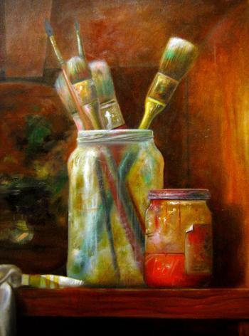 Materiel artiste peintre for Materiel de peinture maison